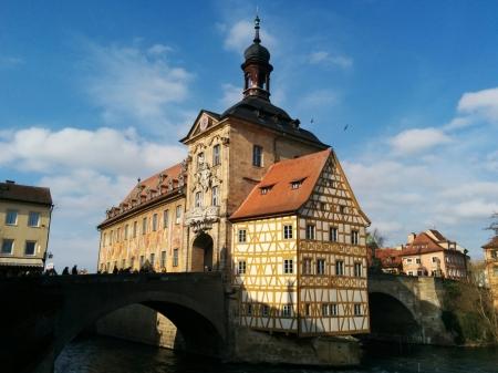 Altes Rathaus, Bamberg, Deutschland
