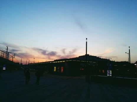 Westbahnhof, Wien.